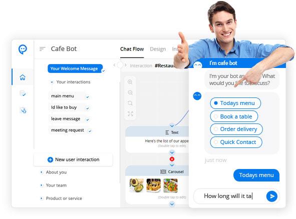 Enrol chatbot dashboard